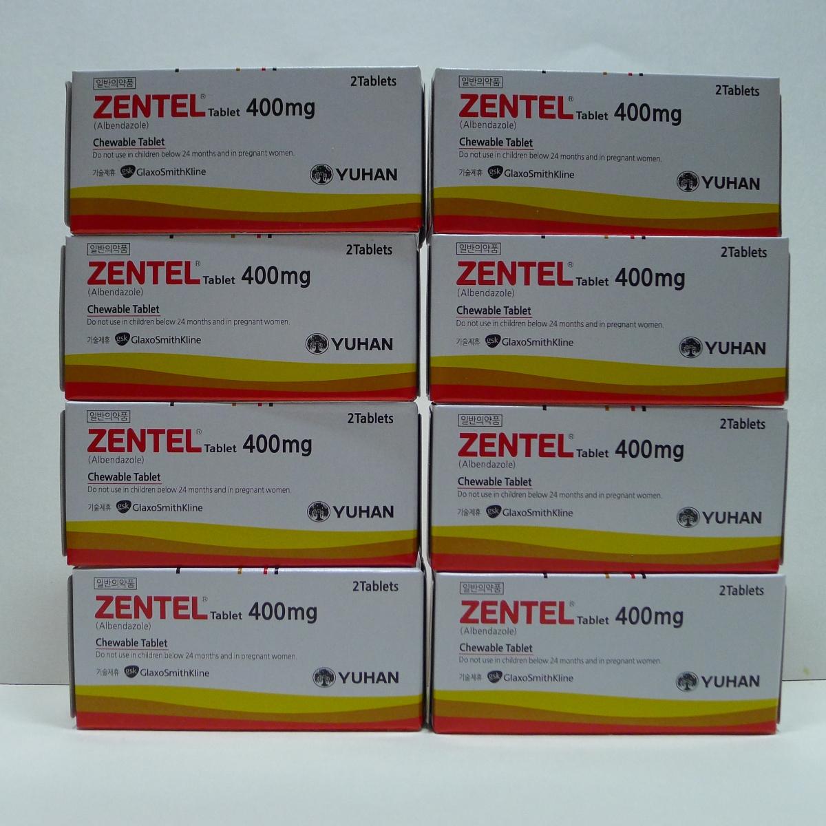 Zentel, comprimate